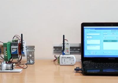 Bezprzewodowy system sterowania pracą aspiratora powietrza