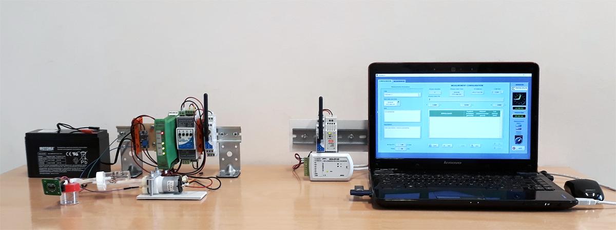 Bezprzewodowe sterowanie pracą aspiratora powietrza