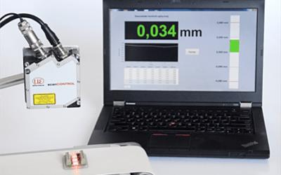 Profilometr laserowy – bezkontaktowy pomiar wymiarów geometrycznych